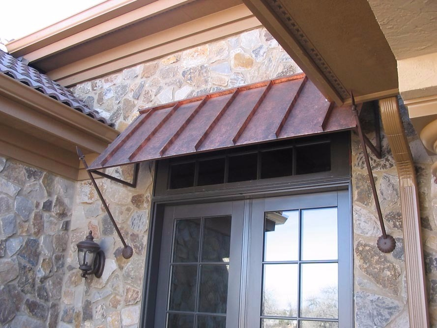 copper custom your awning design metal window awnings
