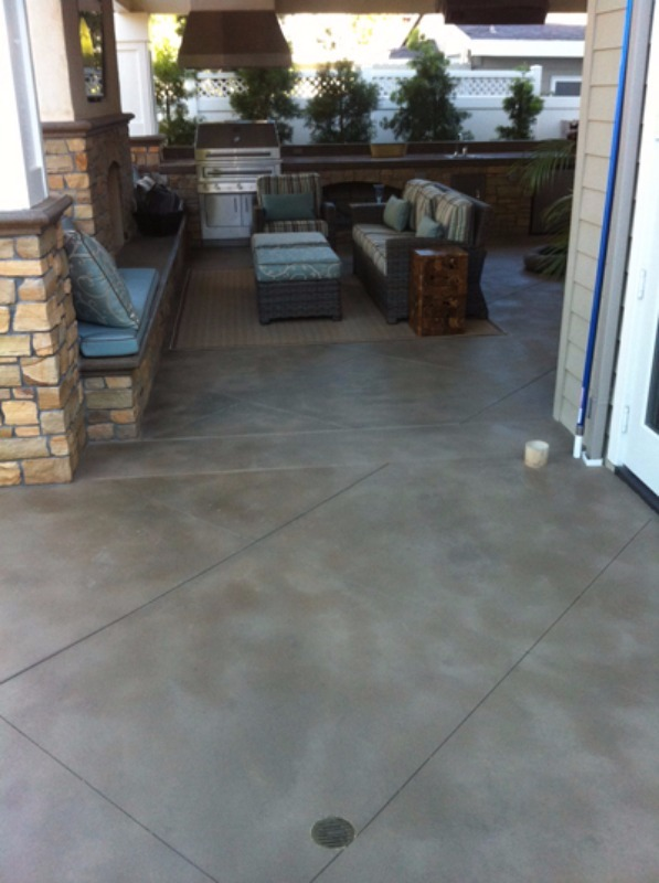 Concrete Staining Services For Residential & Commercial In