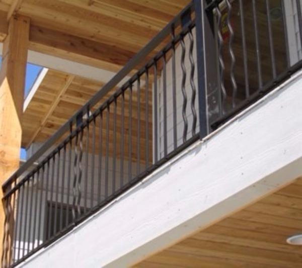 Iron Balcony Railings Designs