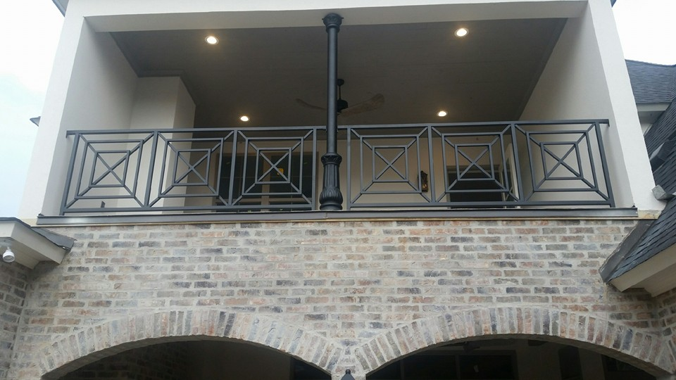 Custom Designed Railing