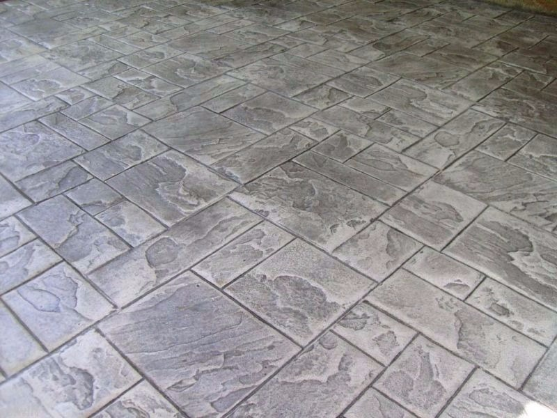 Stamped Concrete Services In Shreveport Bossier City